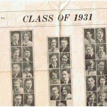 Image of Senior prophecy 1931