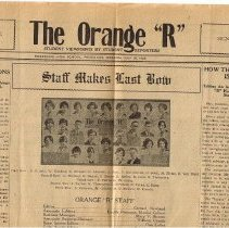"Image of 1929 Orange ""R"""