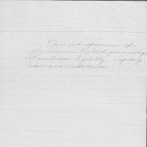 Image of handwriting