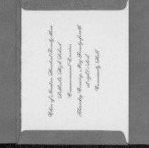 Image of Invitation - C