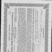 Image of Common Stock Certificate