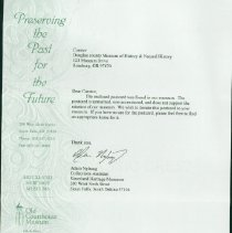Image of Transfer Letter