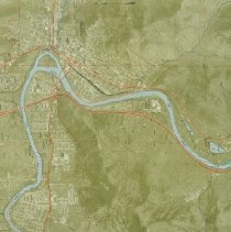 Image of Roseburg Map
