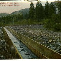 Image of Placer mining in the west