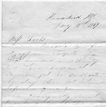 Image of 2008.25.43 Letter