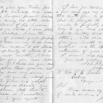 Image of 2008.25.44 Letter-Page 2&3