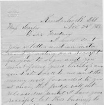 Image of 2008.25.46 Letter