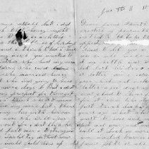 Image of 2008.25.48 Letter- Pages 1 & 4