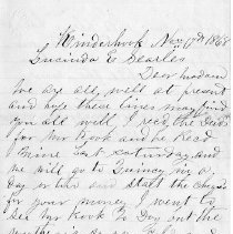 Image of 2008.25.49 Letter - Page 1