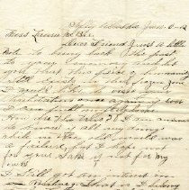Image of 2008.25.54 Letter - Page 1