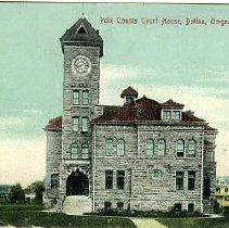 Image of Polk County Court House, Dailas, OR