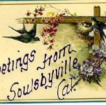 Image of Greetings from Soulsbyville, CA