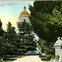 Image of State Capitol Park entrance, Sacramento