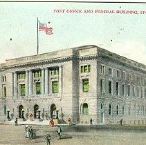 Image of Post Office & Federal Building, Spokane, Wash