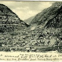 Image of Ouray Colo. looking north