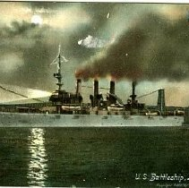 Image of U.S. Battleship Louisiana