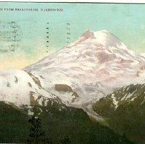 Image of Mt. Baker from Bellingham, Wash