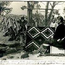 Image of Navajo weaving