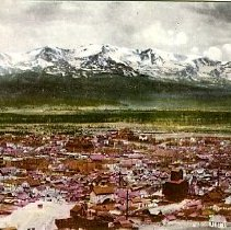 Image of Glimpse of the city of Leadville