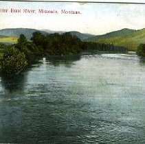 Image of Bitter Root River, Missoula, Montana