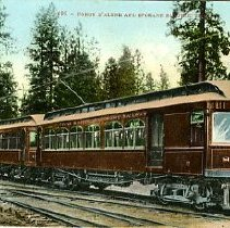Image of Coeur D'Alene and Spokane Electric Train