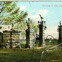 Image of Gateway to City Park, Pueblo, Colo