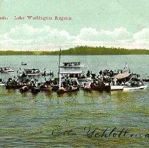 Image of Lake Washington Regetta, Seatle