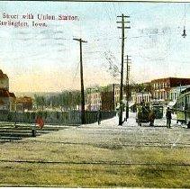 Image of Union Stateion, Burlington, Iowa