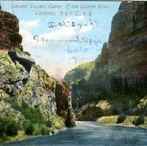 Image of Canon of the Grande River, Colo