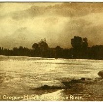 Image of Moonlight on Rogue River