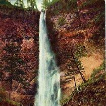 Image of Multnomah Falls, Columbia River