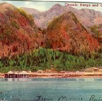 Image of Cascade Range  & Columbia River OR