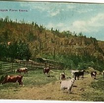 Image of Oregon farm scene