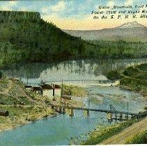 Image of Table Mountain, Gold Rap Dam, Oregon