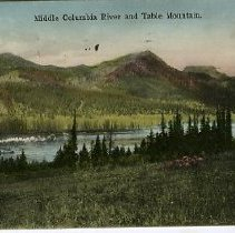Image of Middle Columbia River and Table Mountain