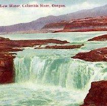 Image of Celilo Falls, Columbia River, Oregon