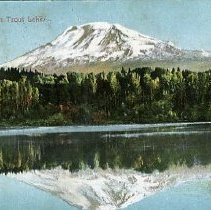 Image of Mt.Adams from Trout Lake