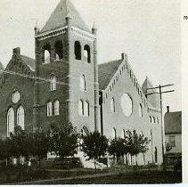 Image of Mormom Tabernacle, La Grand, Oregon