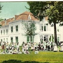 Image of Girls'Dormitory at Indian School, Salem OR