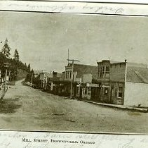 Image of Mill Street, Brownsville Oregon