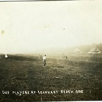 Image of Golf Players at Gearhart Beach, OR