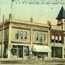 Image of IOOF Hall and City Hall Grants Pass, OR