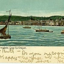 Image of Water Front, Marshfield, Coos Co. OR