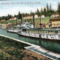 Image of Cascade Locks, Columbia River