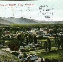 Image of General view of Baker City, OR