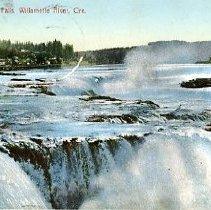 Image of Willamett Falls, Willamette River, OR