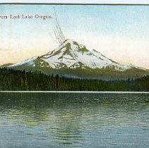 Image of Mt. Hood from Lost Lake, OR