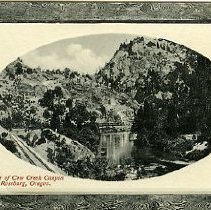 Image of A Glimpse of Cow Creek Canyon
