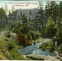 Image of View of the Cow Creek Canon, roseburg