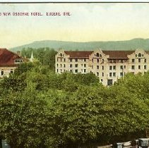 Image of Court House & New Osborne Hotel Eugene
